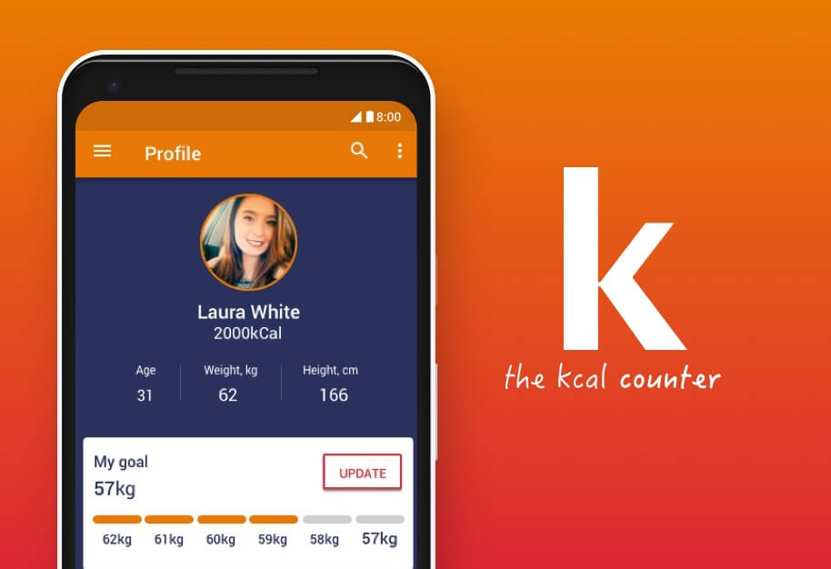 App the kcal counter